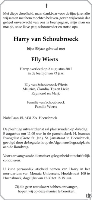 2017-Harry-Schoubroeck