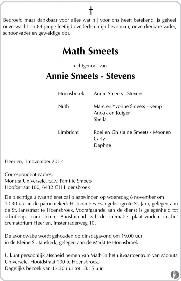 2017-Math-Smeets